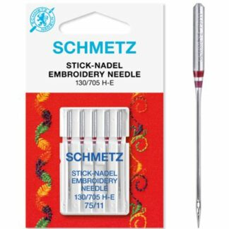 Schmetz 130 705 H-E broderinåle 75 Hobbysy