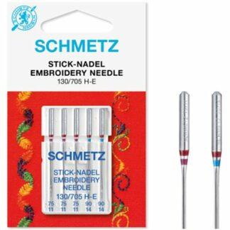Schmetz 130 705 H-E broderinåle Hobbysy