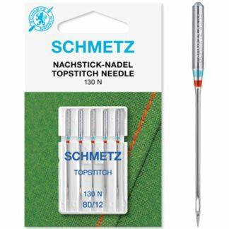 Schmetz Topstitch nåle 80 Hobbysy