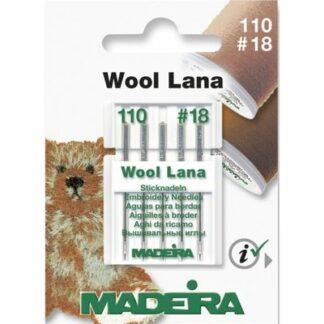 Madeira 9452 symaskinenåle til uld tråd Hobbysy