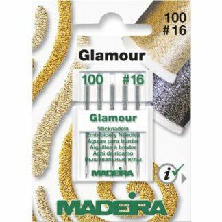 Madeira 9453 symaskinenåle til Glamour tråd Hobbysy