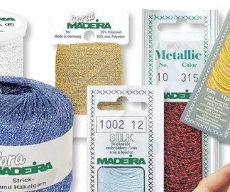 Madeira strikke, hækle & effekt garn