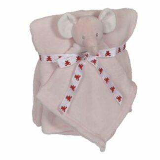 Babytæppe elefant lyserød 41396