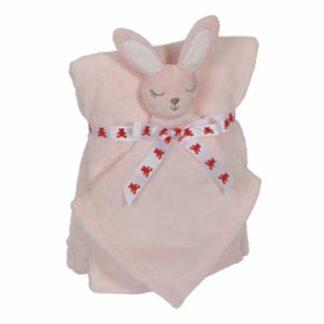 Babytæppe kanin 41191 lyserød