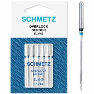 Schmetz 90 overlock nåle Hobbysy